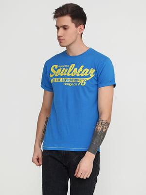 Футболка синяя | 5292378