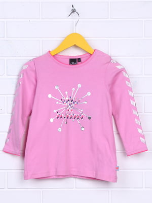 Лонгслив розовый | 5292442