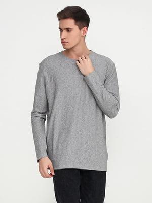 Лонгслив серый | 5292465