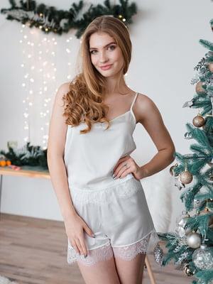 Комплект домашнього одягу: майка і шорти | 5294431