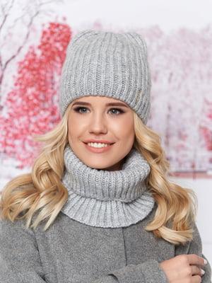 Комплект: шапка и шарф-хомут | 5294593