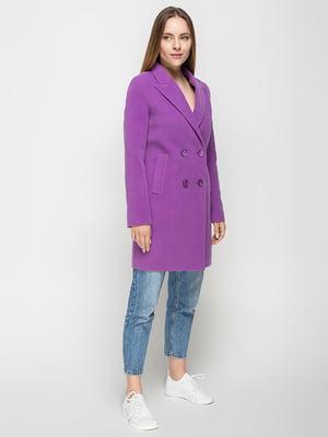 Пальто фиолетовое | 5252158