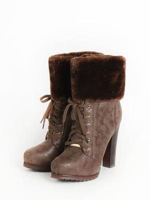 Ботинки коричневые | 5295036