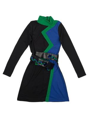Сукня чорно-синя | 5294728