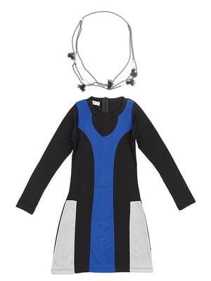 Сукня чорно-синя | 5294733