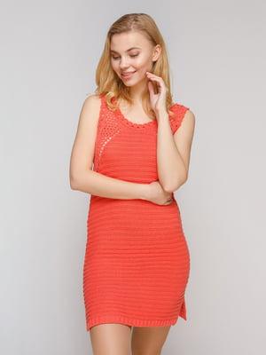 Платье коралловое | 2693841