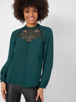 Блуза зеленая | 5295267