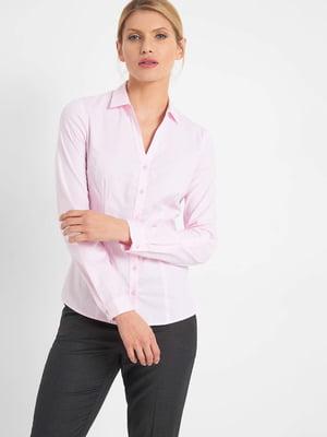 Рубашка пудрового цвета | 5295273