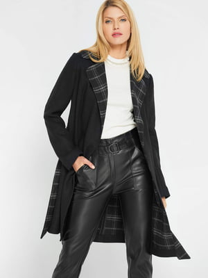 Пальто чорне | 5295288