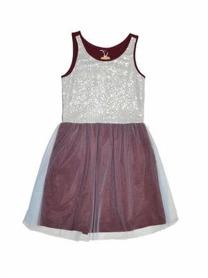 Сукня комбінованого забарвлення   5295656