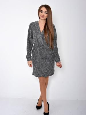 Платье черно-серое | 5296026