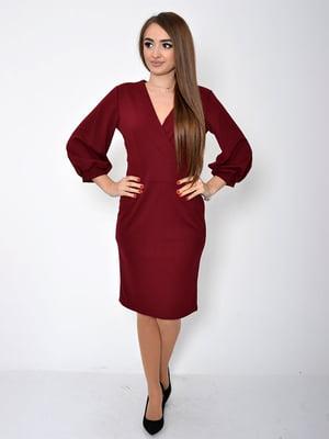 Платье вишневого цвета | 5296032