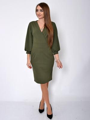 Платье цвета хаки | 5296034
