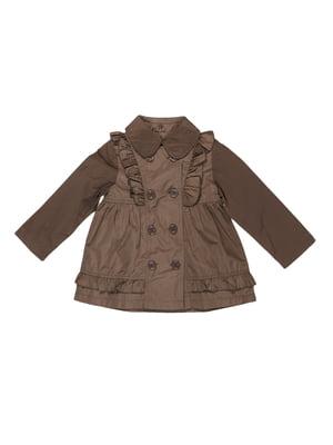 Куртка кольору хакі | 5292579