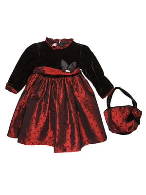 Сукня чорно-червона | 5292578