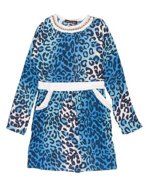 Платье анималистической расцветки | 5292543