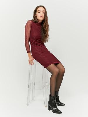 Сукня бордова | 5296125