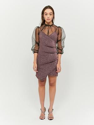Сукня бузкового кольору | 5296134