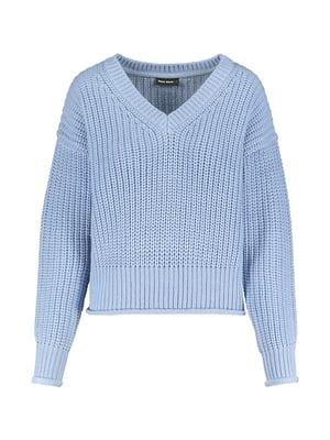 Пуловер блакитний | 5296142