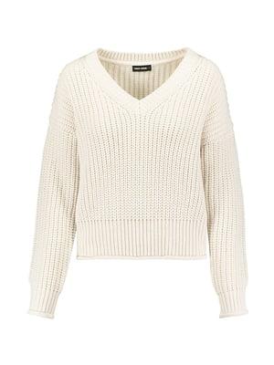 Пуловер молочного кольору | 5296145