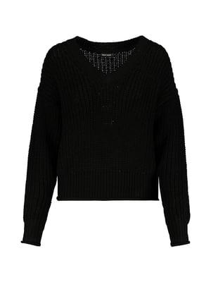 Пуловер чорний | 5296146