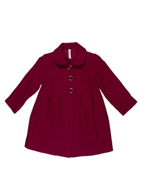 Пальто кольору темної фуксії | 5292518