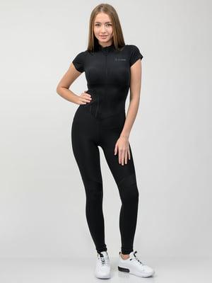 Комбінезон спортивний чорний | 5297941