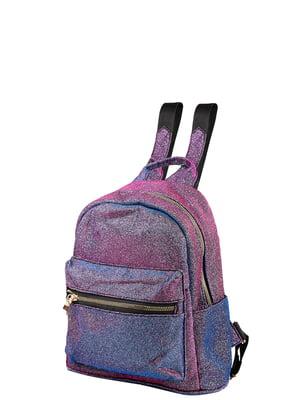 Рюкзак рожево-синій   5298204