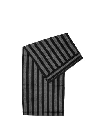 Шарф серо-черный | 5298225