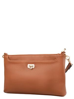 Клатч коричневий | 5298578