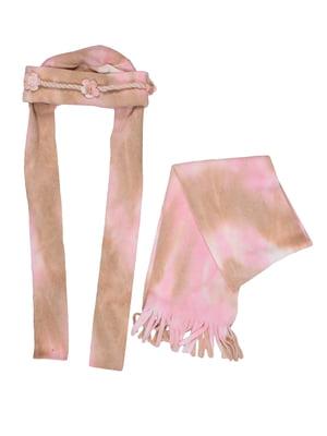 Комплект: шапка і шарф | 5296315