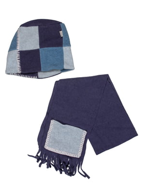 Комплект: шапка і шарф | 5296312