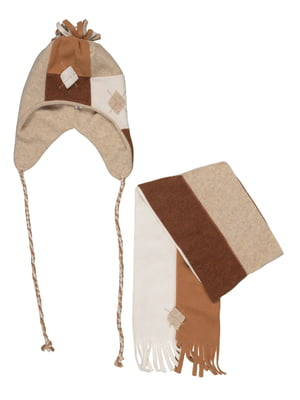 Комплект: шапка и шарф   5296311