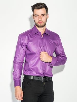 Сорочка темно-фіолетова | 5287786