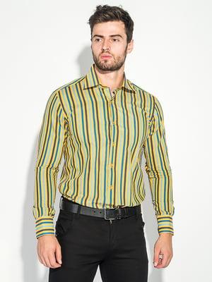 Сорочка жовто-синя | 5287801