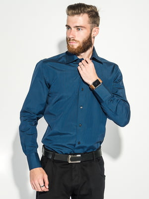 Сорочка чорно-синя | 5287816