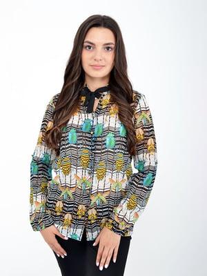 Рубашка в принт | 5298900
