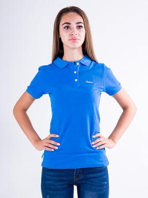 Футболка-поло голубая | 5299243