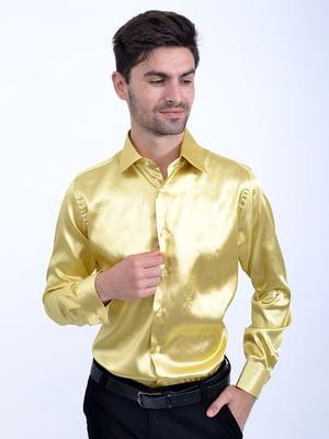 Сорочка блідо-жовта | 5299260