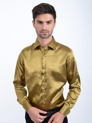 Сорочка темно-золотистого кольору | 5299271