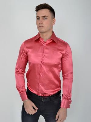 Сорочка темно-рожева | 5299272