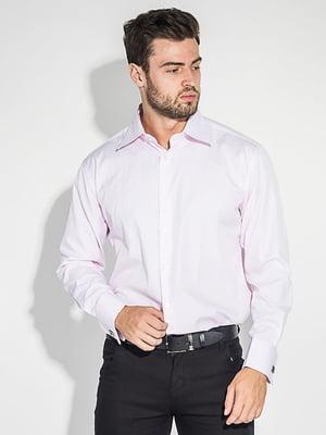 Сорочка рожевого кольору з візерунком | 5299296