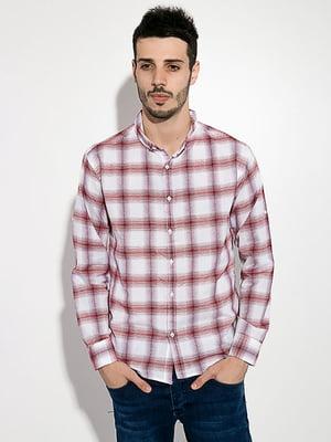 Рубашка двухцветная в клетку | 5299305