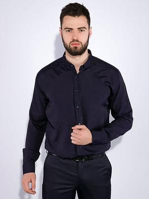 Сорочка чорнильного кольору | 5299335