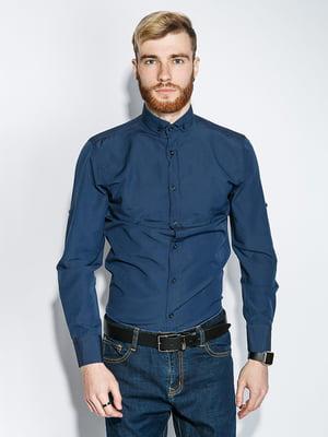Рубашка синяя | 5299365
