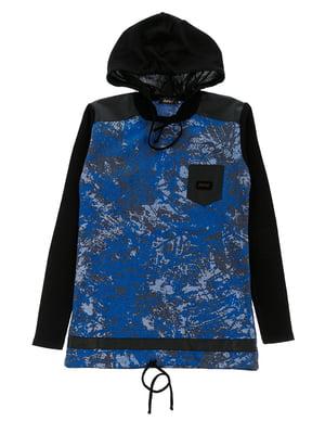 Джемпер серо-голубой | 5299409