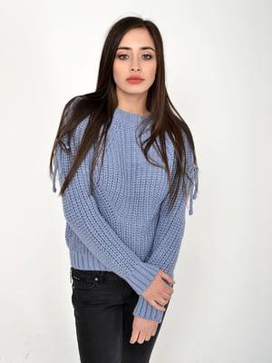 Джемпер сіро-блакитний | 5299415