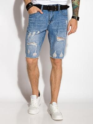 Шорти блакитні джинсові | 5299545