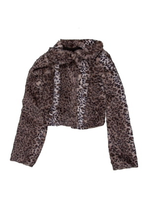 Болеро з леопардовим принтом | 5294747