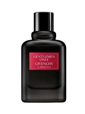 Парфумована вода «Gentlemen only absolute» - тестер без крышки (100 мл) | 5295875